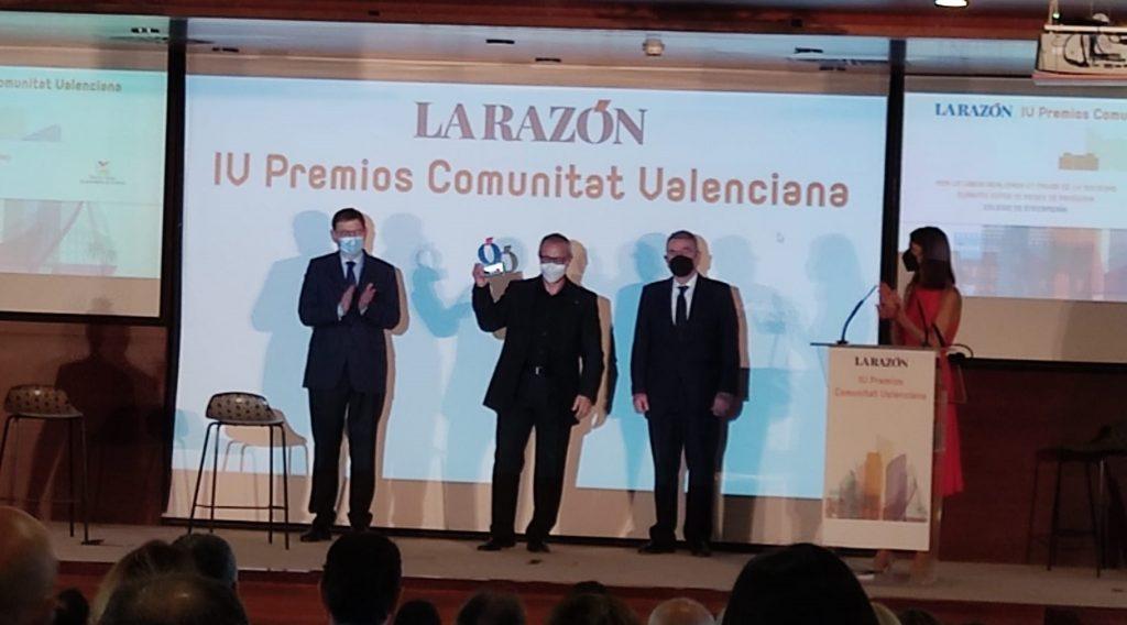 El diario <i>La Razón</i> premia a las enfermeras de la Comunidad Valenciana por su gran trabajo durante la pandemia