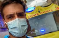 El mensaje viral de Jorge, un enfermero del SUMMA 112 que a base de sonrisas ha dado una lección sobre la vacunación