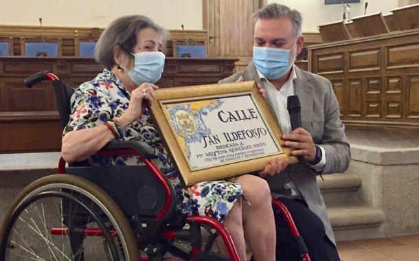 """La ciudad de Plasencia rinde homenaje a la enfermera Agustina González y le dedica la calle de """"San Ildefonso"""""""