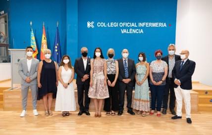 Laura Almudéver, proclamada presidenta del Colegio de Enfermería de Valencia: