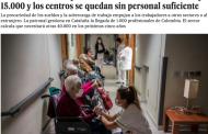 """""""El País"""" denuncia la precariedad laboral que vacía las residencias de enfermeras"""