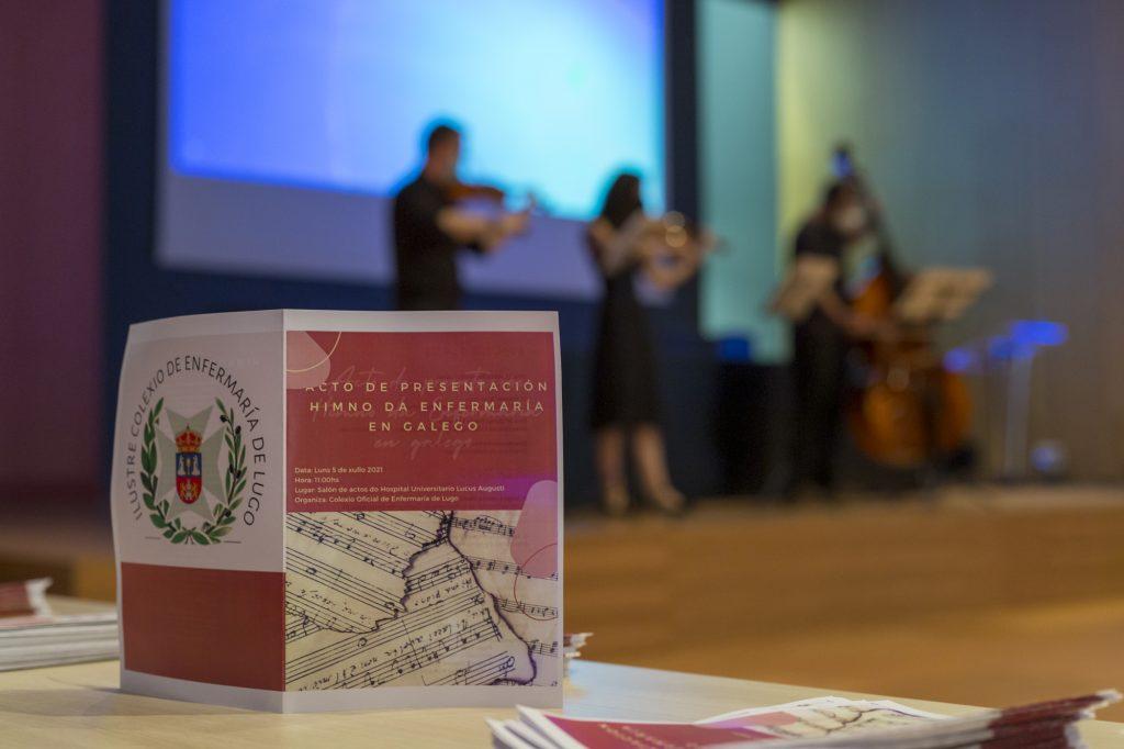 Las enfermeras lucenses adaptan al gallego el himno oficial de la enfermería