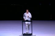 La enfermera y boxeadora japonesa Arisa Tsubata inaugura los Juegos Olímpicos de Tokyo 2020