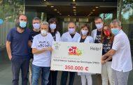 La iniciativa solidaria #LaCamisetaDePau ha recaudado 350.000 euros en un mes para la investigación del cáncer