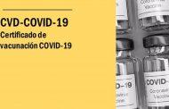 La OCU advierte de la importancia de asegurarse de tener el certificado vacunal completo