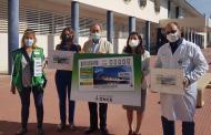 El cupón de la ONCE homenajea al personal del Hospital Universitario San Jorge de Huesca