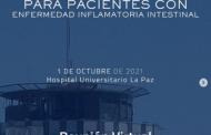 La Unidad de Enfermedad Inflamatoria Intestinal de La Paz organiza una jornada formativa destinadas a pacientes