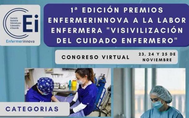EnfermerInnova convoca la 1ª edición de sus premios a la labor enfermera sobre