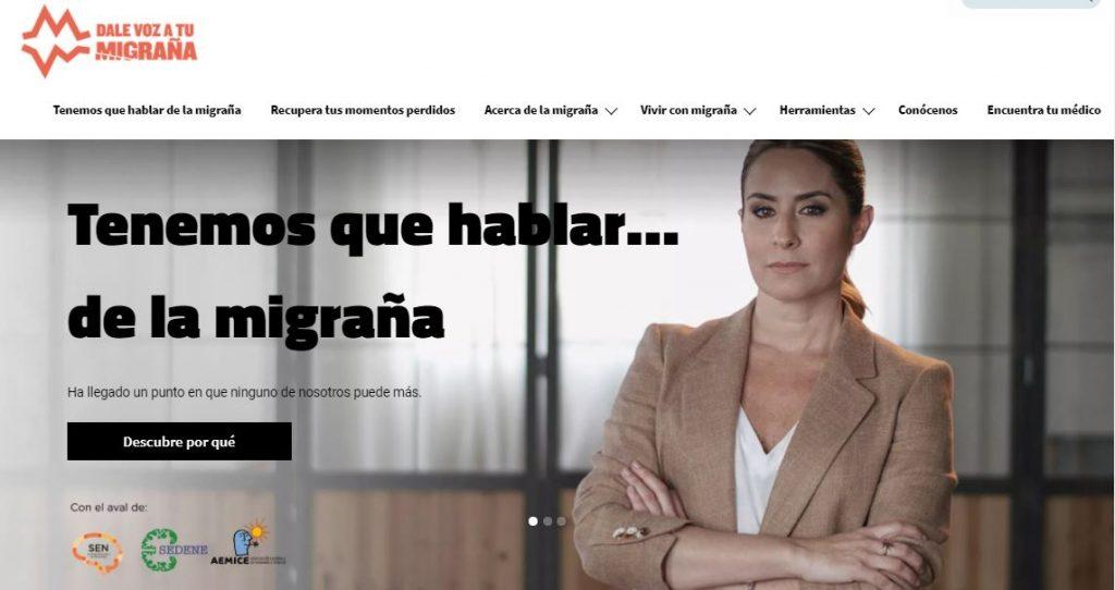 """""""Dale voz a tu migraña"""", para hablar de una patología que padecen 5 millones de personas en España"""