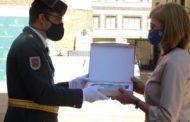 La Guardia Civil de Soria hace una mención especial a las enfermeras durante la celebración del 12 de octubre