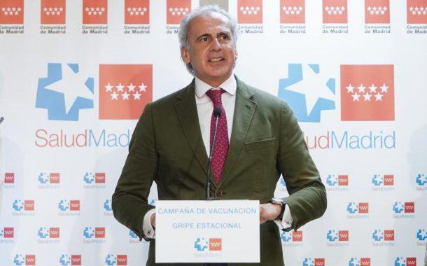 La Comunidad de Madrid destaca el trabajo de la enfermería de Atención Primaria en la vacunación frente a la gripe y el COVID-19