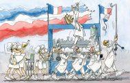 Enfermeras y médicas, infravaloradas por el humor gráfico publicado en pandemia