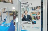 Margarita Salas, protagonista de la exposición