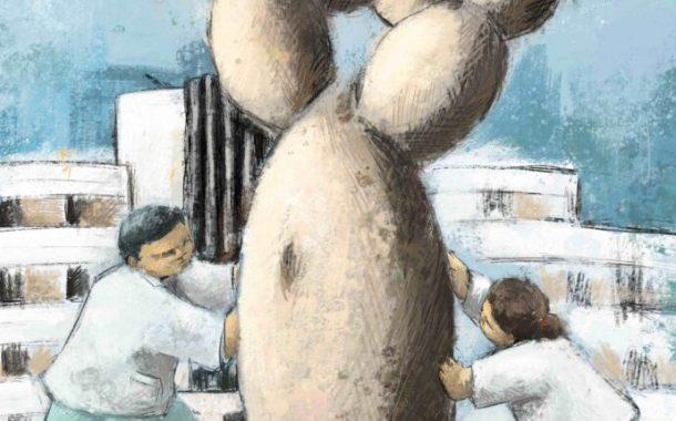 Una exposición en el Museo Elder muestra las obras artísticas de los usuarios de Salud Mental