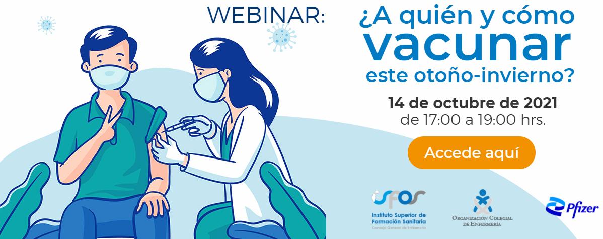 ¿Se puede vacunar a la vez de gripe y COVID-19? Un webinar gratuito resuelve esta y otras cuestiones